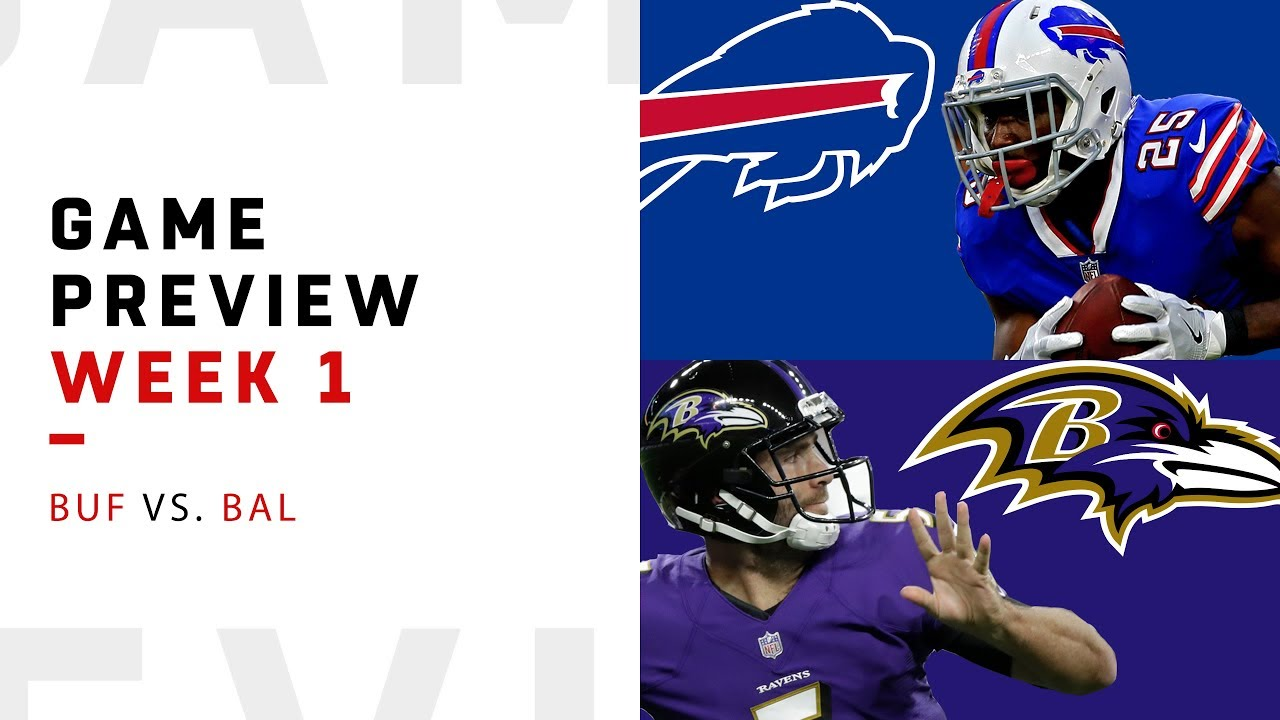 Buffalo Bills Vs Baltimore Ravens Week 1 Game Preview Nfl Film Review Youtube