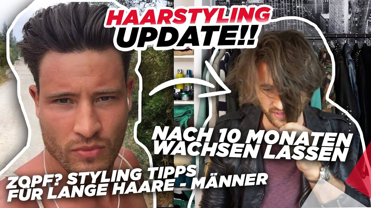 Haarstyling Update Nach 10 Monaten Wachsen Lassen Zopf Styling