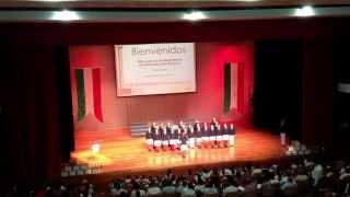 Concurso interpretación himno nacional etapa estatal. J. Gpe Ramírez Aguilar