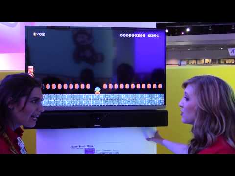 Super Mario Maker - Buzzy Beetle Surfing! (Direct Feed Audio - E3 2015)