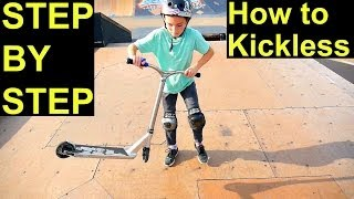 How to Kickless Rewind on a Scooter EASIEST & FASTEST WAY ️‼️