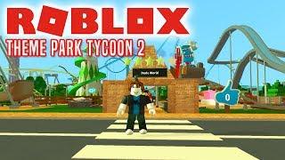 NYT OMRÅDE TIL PARKEN! - Roblox Theme Park Tycoon 2 Dansk Ep 5