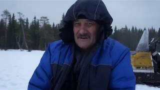 Рыбалка в феврале. Выезд в тайгу на буране. Часть 2.