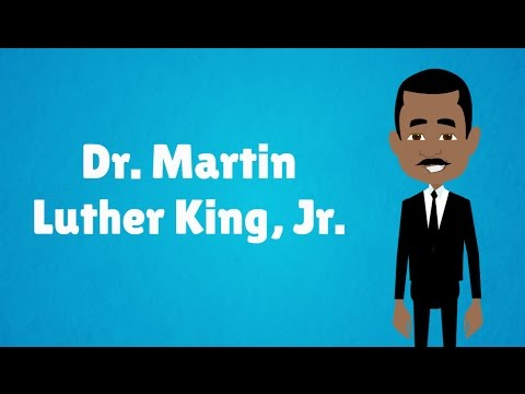 The Life of Dr. Martin Luther King, Jr. - MLK Day! (Animated)