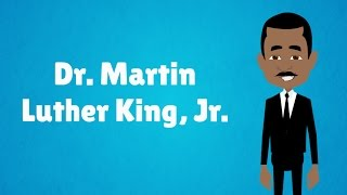 The Life Of Dr. Martin Luther King, Jr.   Mlk Day! (animated)