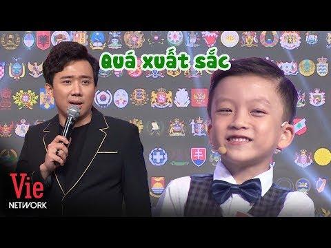 Trấn Thành bái phục cậu bé 6 tuổi nhận diện quốc huy SIÊU ĐỈNH | SIÊU TRÍ TUỆ (The Brain Vietnam)