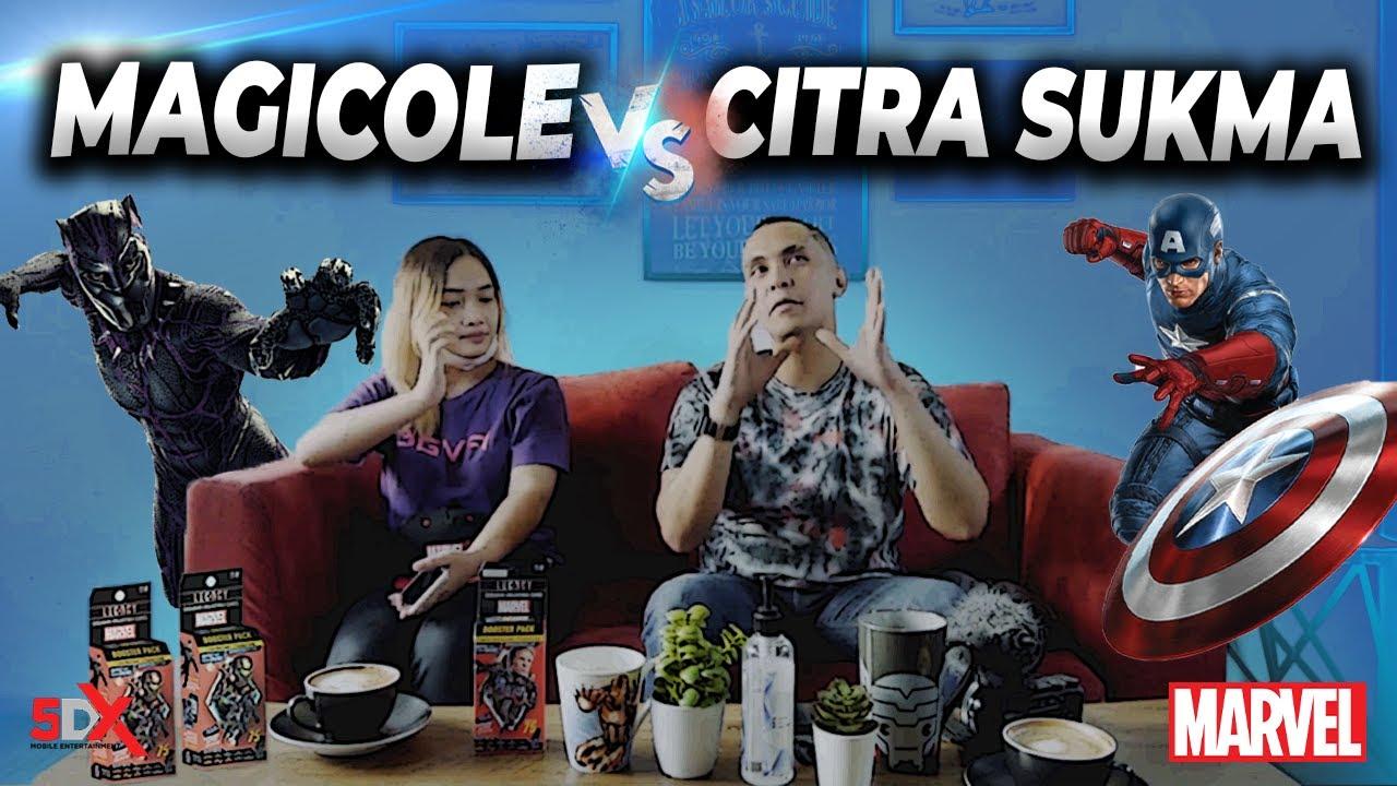 MAGICOLE vs CITRA SUKMA?? Who's win?