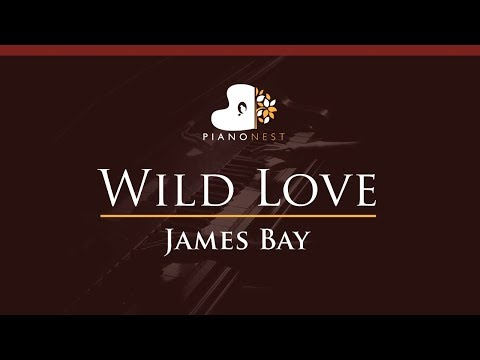 James Bay - Wild Love - HIGHER Key (Piano Karaoke / Sing Along)