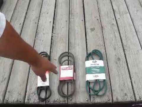 Craftsman Riding Mower Deck Belt Review