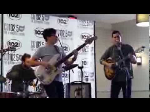 White Denim Live Music & Interview in the CD102.5 Big Room ...