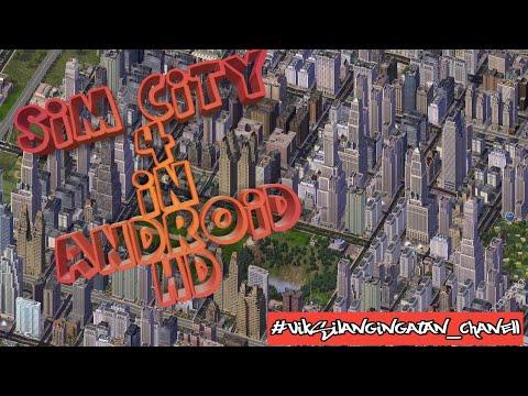 Memainkan Sim City 4 Di Android HD \ Play Sim City Deluxe In Android