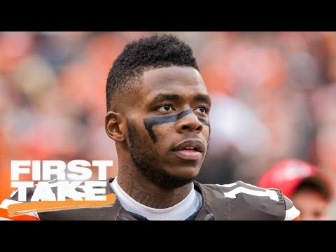 Should Browns Trade Josh Gordon? | First Take | March 30, 2017