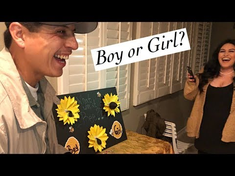 Gender Reveal diy (emotional)