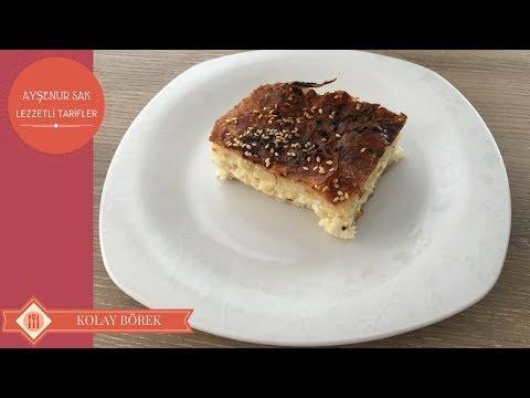 Kahvaltılık Kolay Börek Tarifi Nasıl Yapılır