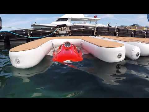 Nautibuoy & lounge rental - NautiBuoy´s inflatable floating platforms