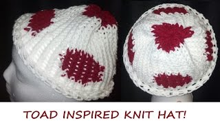Sewing Nerd! - Tutorial: How To Knit A Toad Inspired Hat!