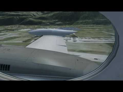 FSX - Carenado Cessna 340, Flight from Samedan to Sion