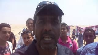 مواطن يعبر عن سعاده وأنبهاره بما شاهده فى قناة السويس الجديدة أغسطس 2014