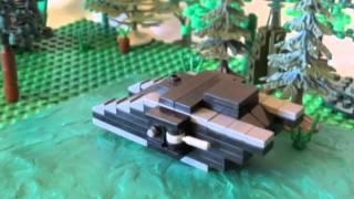 |LEGO|The first tank battle | Первое танковое сражение|RU