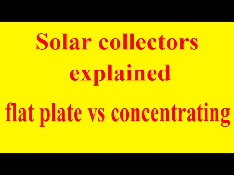 solar-collectors-explained-|-flat-plate-vs-concentrating-type-solar-collector-|-schefler-reflector