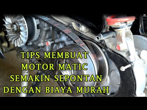TIPS MUDIK CARA MEMBUAT TARIKAN MOTOR MATIC SEMAKIN SEPONTAN