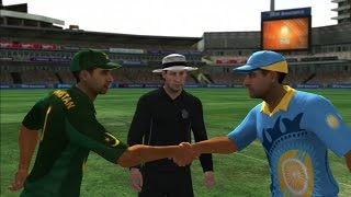 Pakistan vs India - International Cricket 2010 (PS3) - ODI (25 over) - HARD difficulty