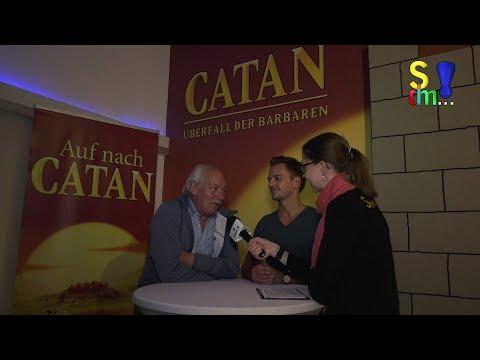 Catan-Escape Raum - Klaus & Benjamin Teuber im Interview (Spiel doch mal...!)