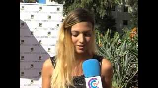 Elisa Mouliaá entrevista Coín Tv Rodaje Rabia
