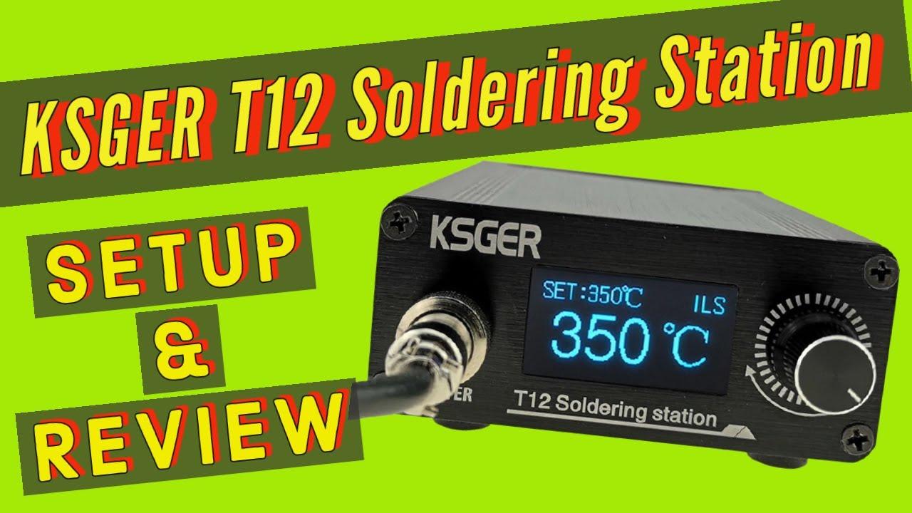 KSGER T12 Soldering Station Setup & Review + Error Message and Calibration Explained