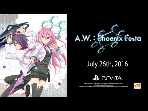 A.W.: Phoenix Festa - Launch Trailer | Vita