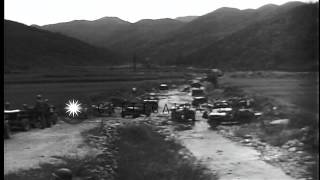 Us Soldiers From 24th Infantry Division Build Up Roads And Bridges To Advance For...hd Stock Footage