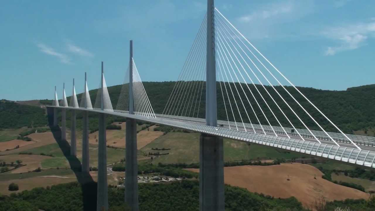 Millau Viaduct, France, 2011, HD 1080p - YouTube