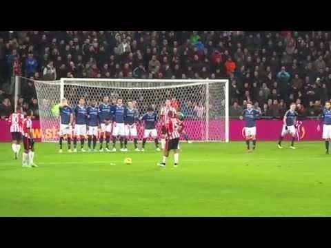 PSV - FC Utrecht 3-1 (7 Februari 2015), Goal Memphis Depay 3-1