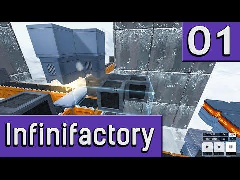 Infinifactory #1 Der Logik Rätsel Fabriksimulator twitch Aufzeichnung