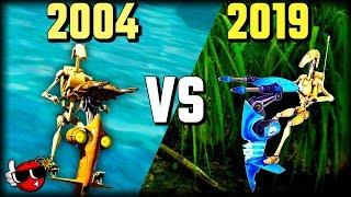 Battlefront 1 (2004) vs Battlefront 2 (2019) - Which Star Wars Battlefront KASHYYYK Map Is Better?