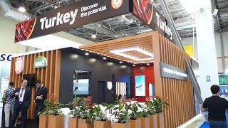 ADEX 2018 Day 1 - Turkey's National Pavilion