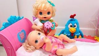 BABY ALIVE  - A Chegada da irmã da Clarabela Com BIA LOBO