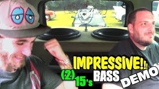 IMPRESSIVE Bass Demo w/ Xtreme Disturbance 2 15
