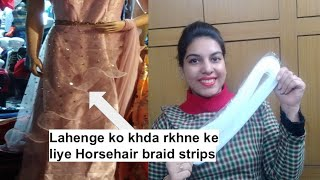 Gambar cover Horsehair braid Kya Hoti H Kaise Use Krte H