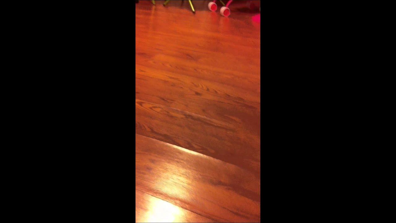 Flooring Is Buckling In Livingrmv Youtube