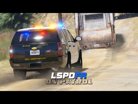 LSPDFR - Day 344 - Garbage Truck on the Run