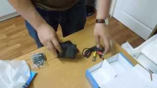 Распаковка и обзор тестового монитора K-305