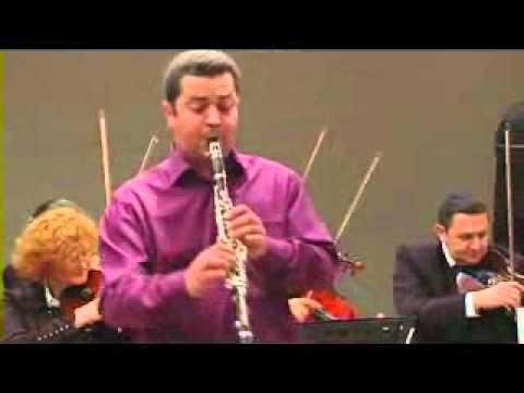 Albanian music, write: Armand Broshka, Mostar orchestra, conducter Damir Bunoza, .wmv