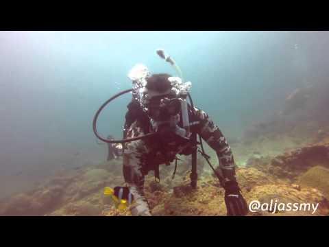 scuba diving  in  bahrain bulthama الغوص في البحرين بولثامه