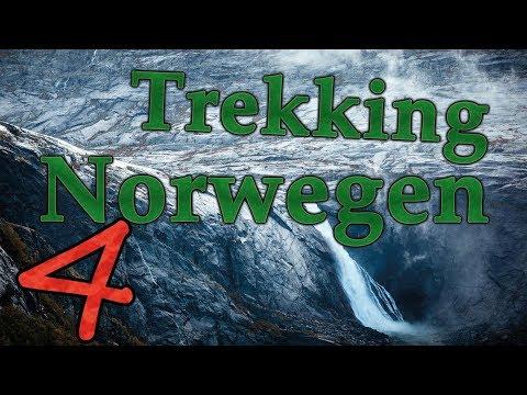 """Norwegen Trekking - Teil 44 Hardangervidda - """"Das Tal der tausend Wasserfälle"""""""