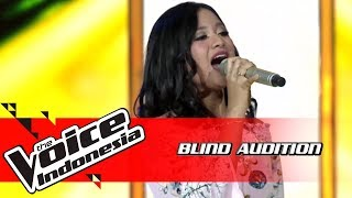Anggi - What About Us | Blind Auditions | The Voice Indonesia GTV 2018