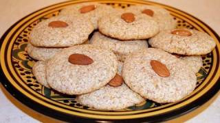 Moroccan Almond Macaroons Recipe - Cookingwithalia - Episode 56
