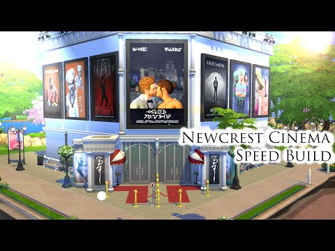 The Sims 4: Speed Build | Newcrest Cinema
