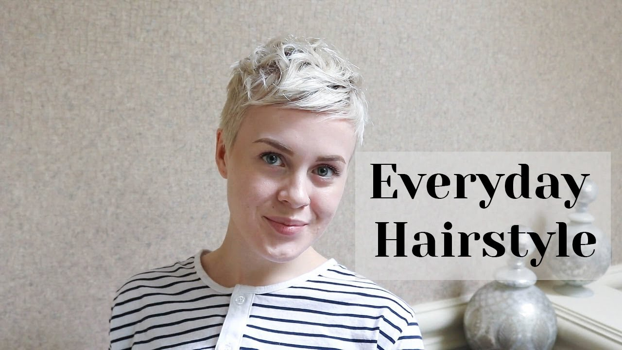 how can i style my hair without heat air everyday styling routine pixie cut 7984