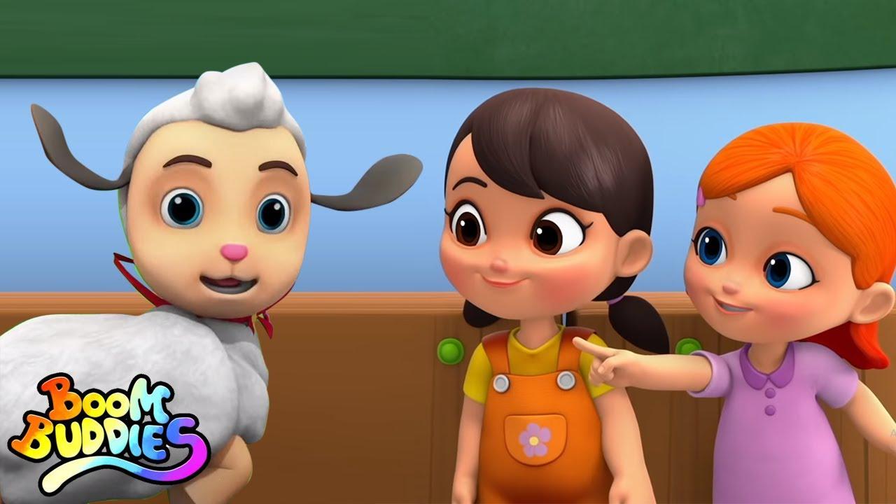 María tenía un corderito | Música para niños | Educación | Boom Buddies Español | Dibujos animados